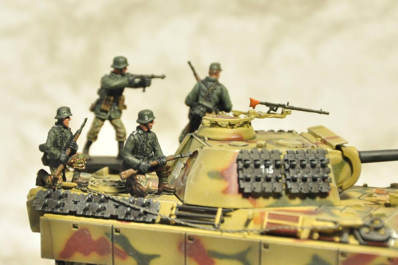 Panzergrenadier, 1/72 scale
