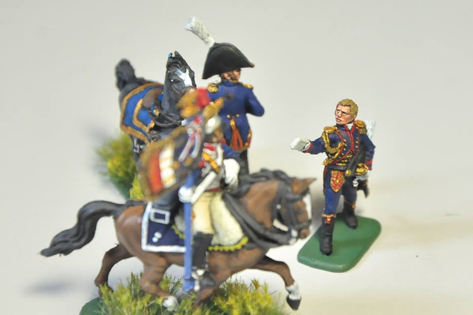 8080 Etat-Major français 1er Empire Napoléon 1/72