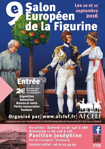 9ème Salon Européen de la Figurine à Strasbourg