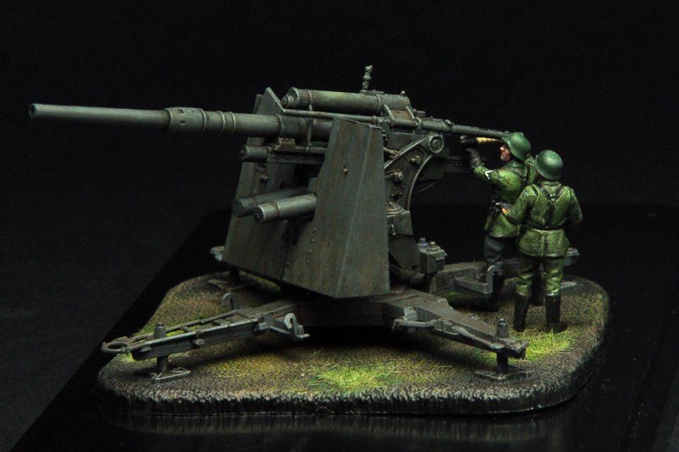 6158 - German Heavy Anti-Aircraft Gun 1/72
