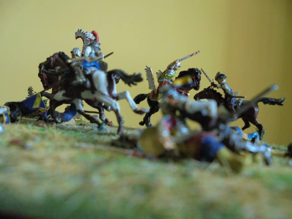 Hussards Ailés Zvezda au combat au 1/72 (20mm)