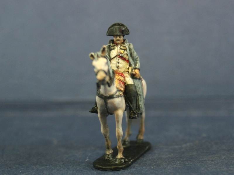Napoleon at 1/72 ref MC00 painted by Peter Trenner