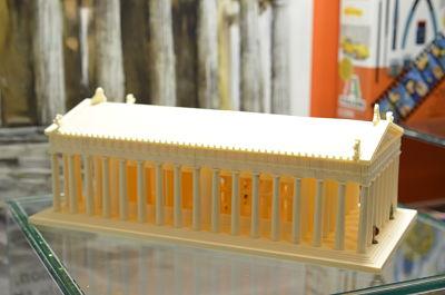 Italeri: Parthenon de  l'Akropolis de la Serie 'World Architecture'