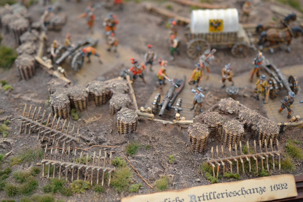 Batterie d'artillerie 1632 Guerre de 30 ans 1/72