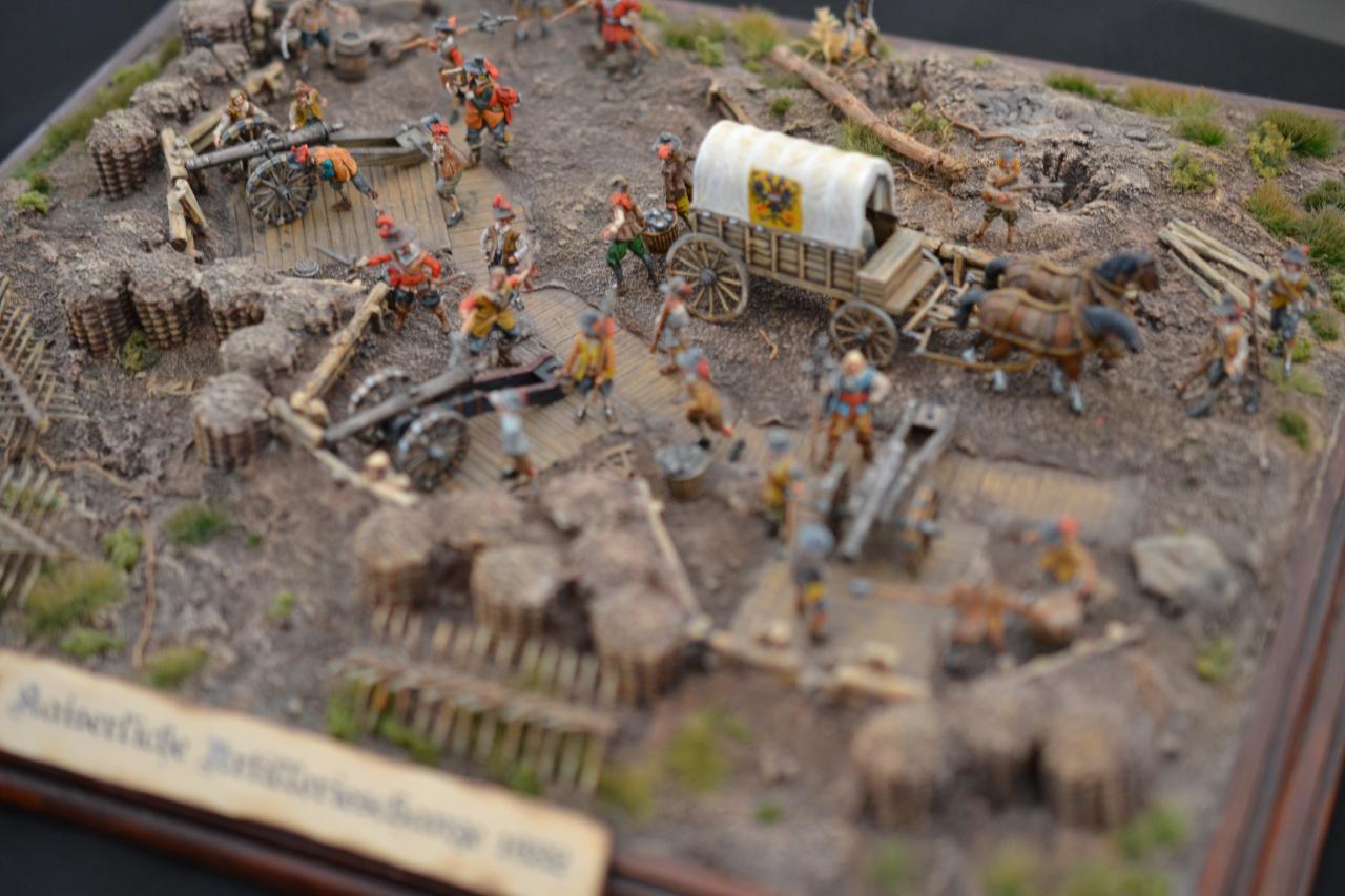 Redoute Artillerie Impériale Guerre de 30 ans 1/72