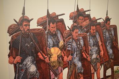 Römische Legion auf dem Vormarsch 1/72