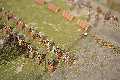 Roman march camp 1/72