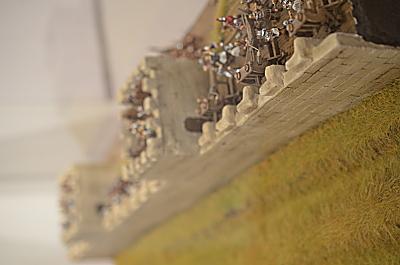 Le mur d'Adrien au 1/72