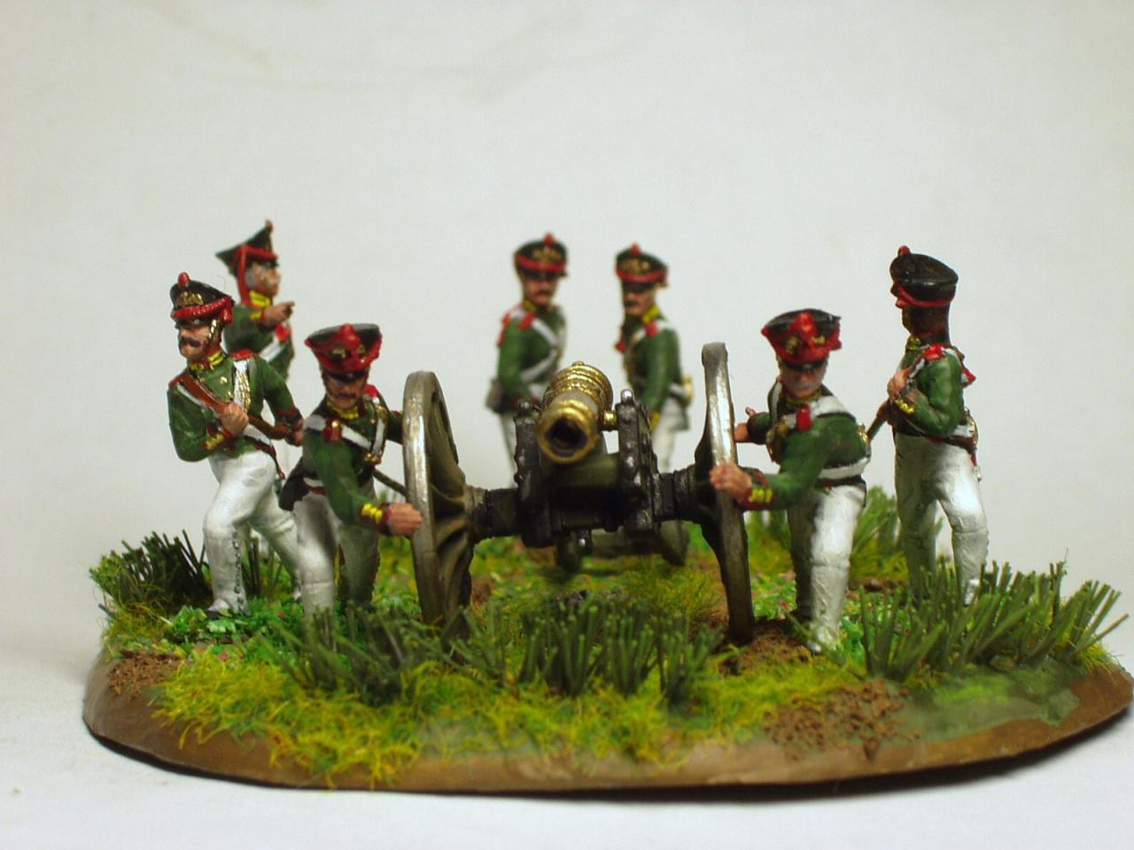 8045 - Napoleonic Russian Guard Heavy Artillery 1/72