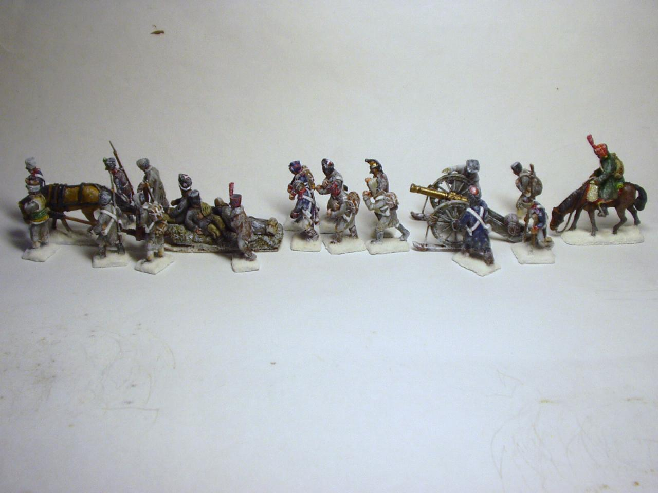 F-RM 04 - Squad 1/72 - F-RM 03 - Cannon with crew 1/72