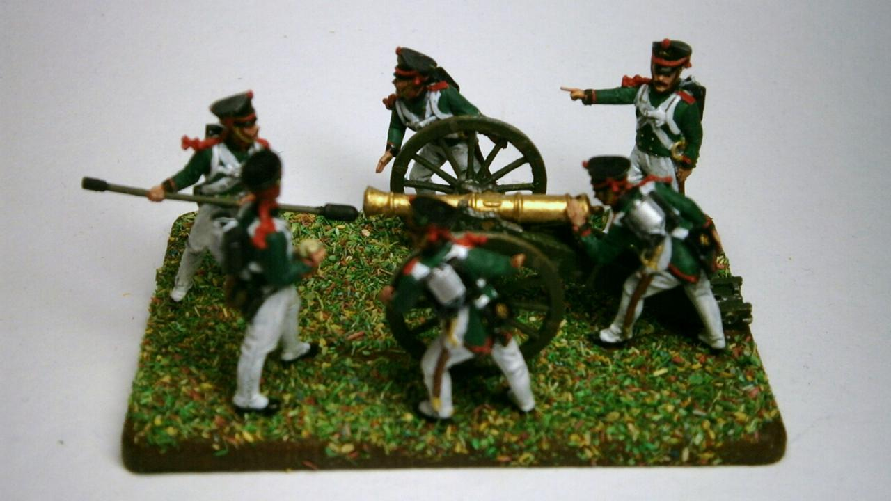 6809 - Russian Foot Artillery (Napoleonic Wars) 1/72