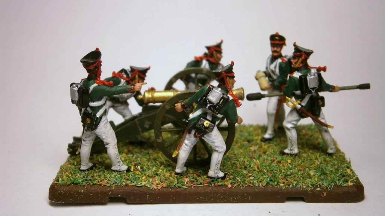 6809 - Russian Foot Artillery (Napoleonic Wars) 1/72