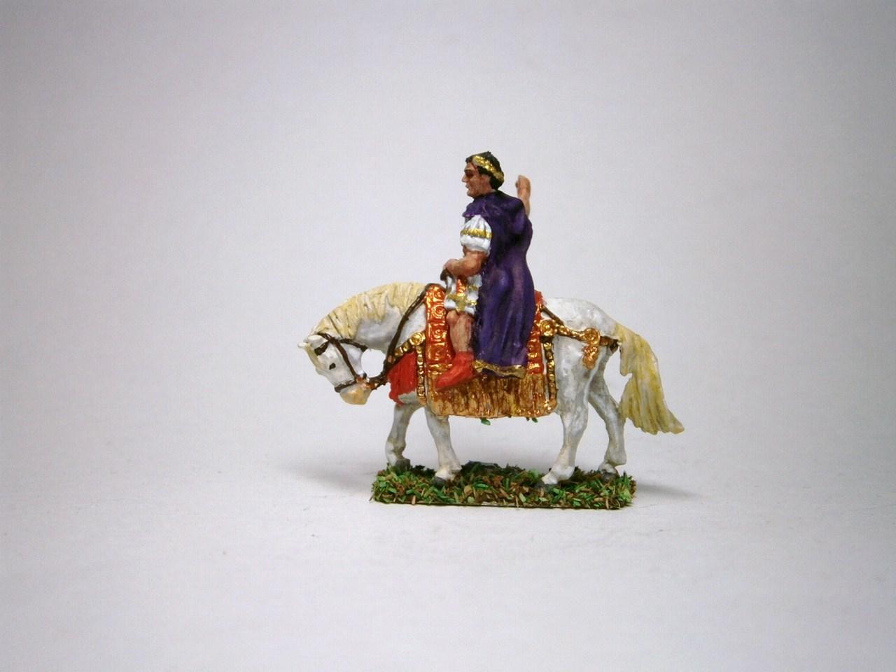JS72/A-177 - Empereur romain à cheval 1/72