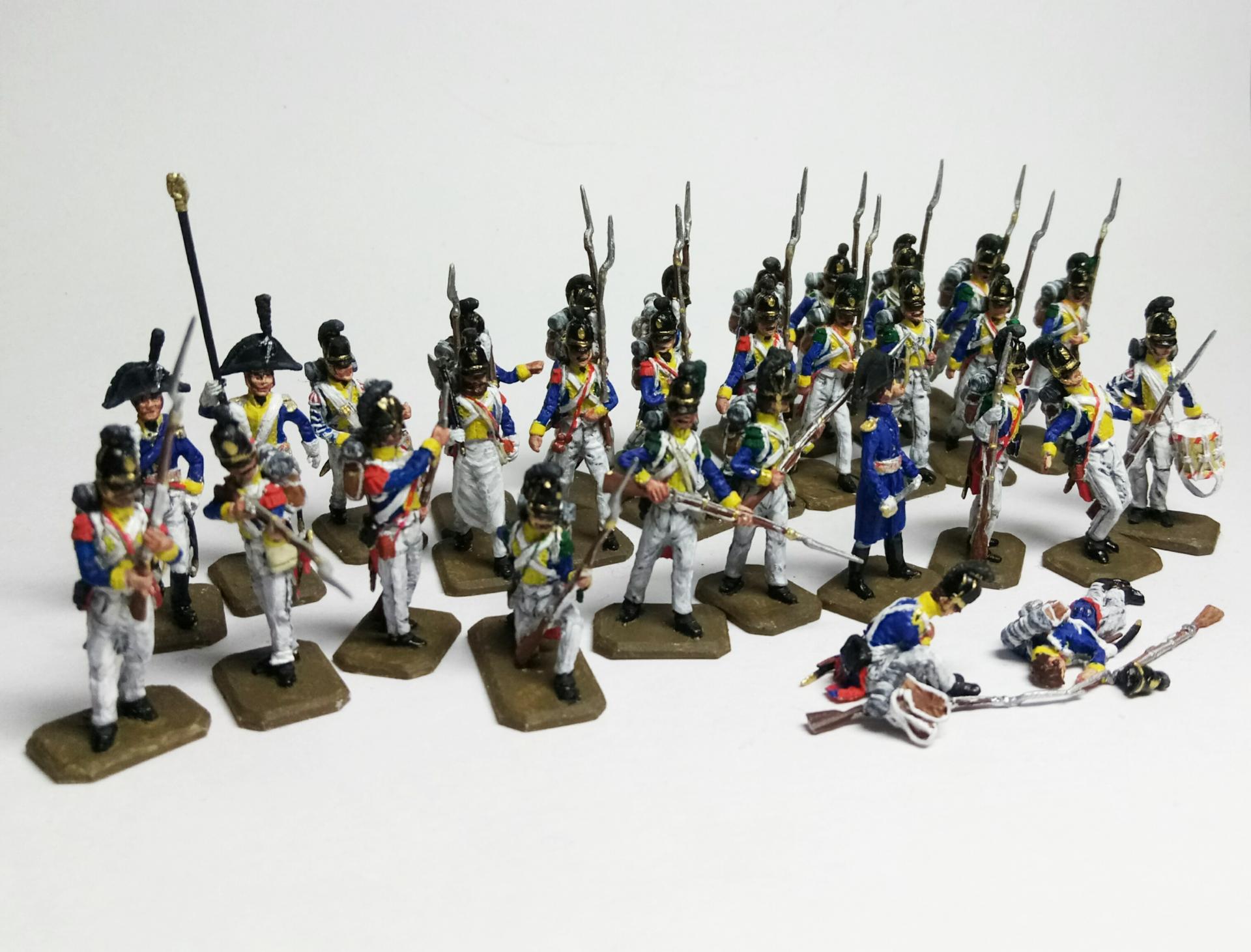 Baden Infantry fighting  1/72