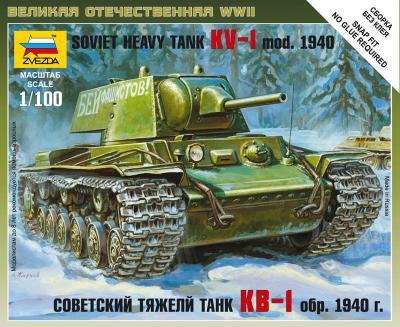 6141 - Soviet Heavy Tank KV-I MOD. 1940 1/100