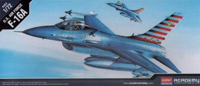 12444 - General-Dynamics F-16A Fighting Falcon 1/72