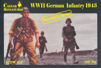 7711 - German Infantry 1/72