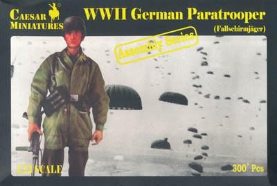 7712 - WW2 German Paratroopers 1/72