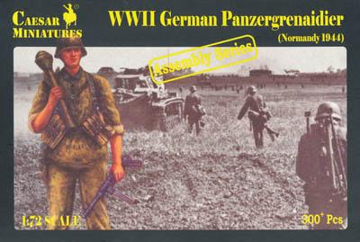 7716 - German Panzergrenadier (Normandy 1944) 1/72