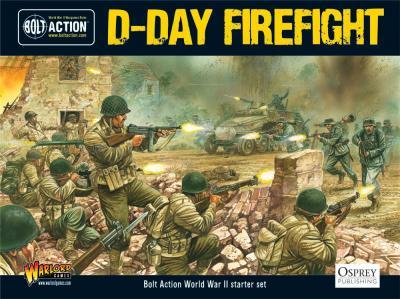 Bolt Action Starter Game - D-Day Firefight