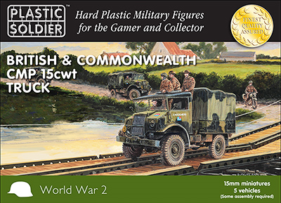 Ww2v15030 british cmp 15cwt truck 15mm