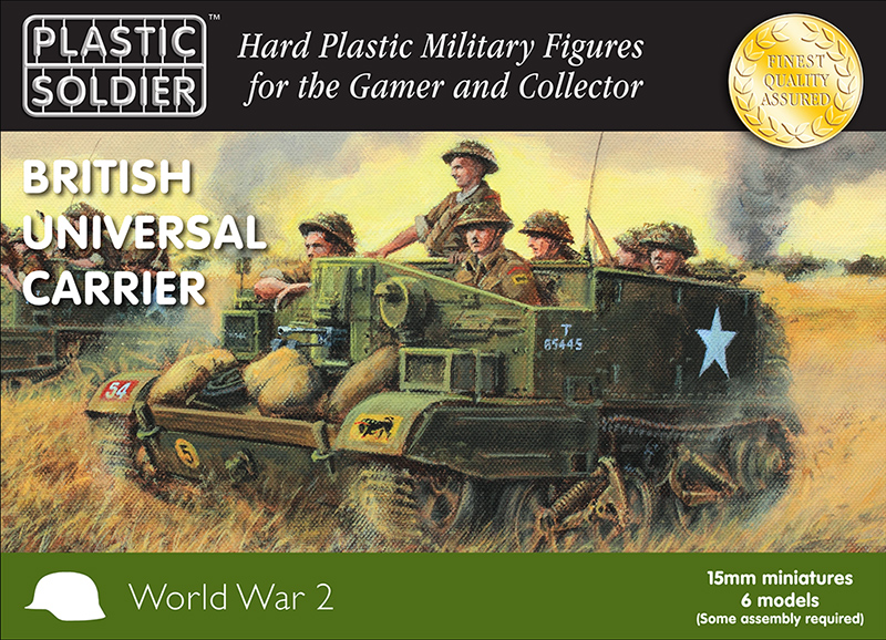 Ww2v15032 british universal carrier 15mm