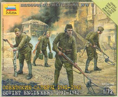 6108 - Soviet Engineers 1941-42 1/72