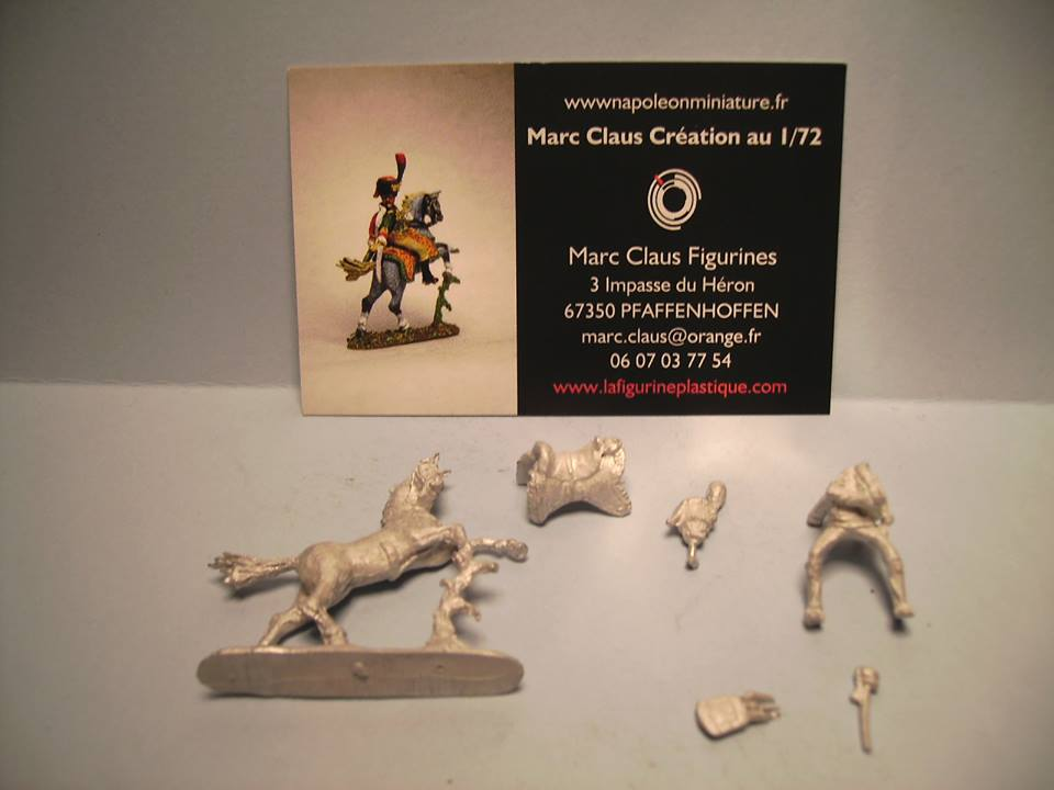 MC006 - Officer of the Imperial Guard Chasseurs 1/72