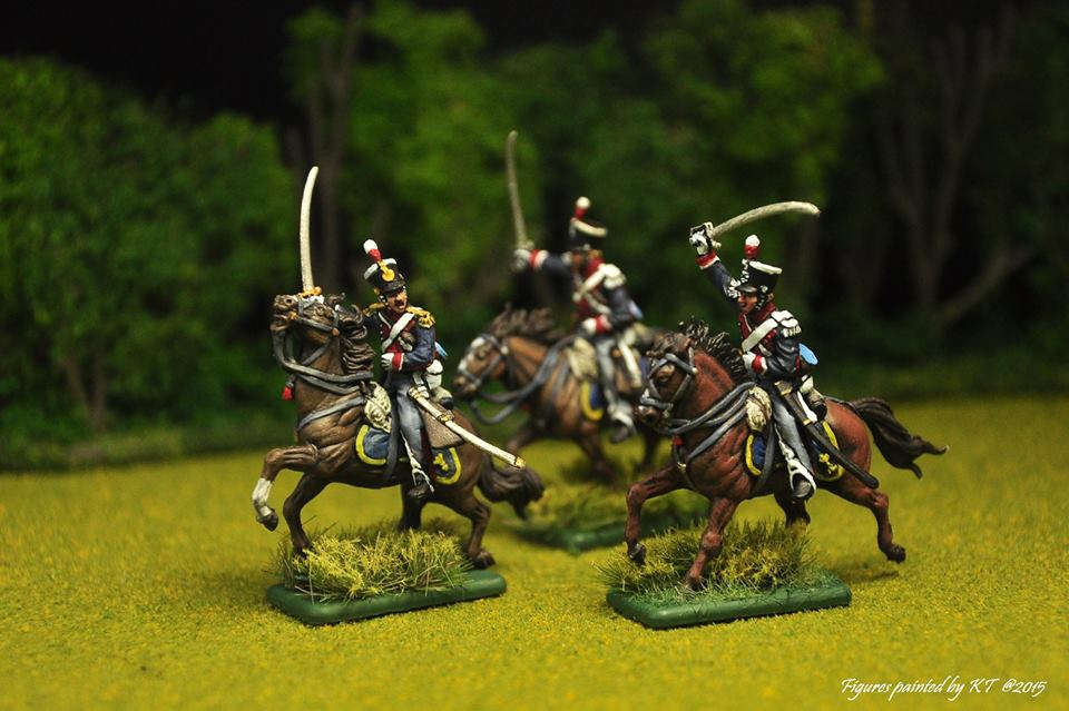 6094 - British Light Cavalry 1815 1/72
