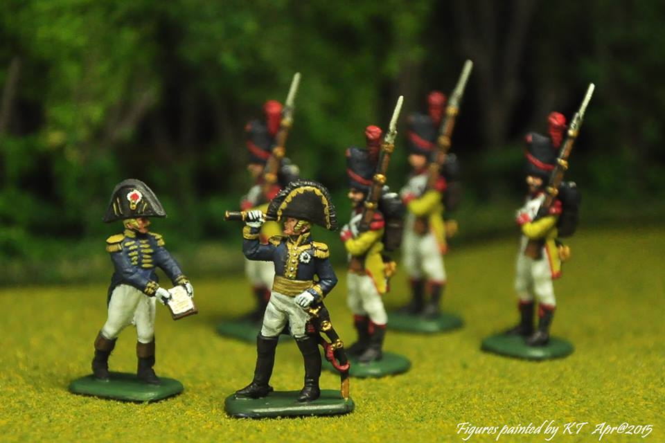 8080 Etat-Major français 1er Empire Napoléon 1/72 Zvezda