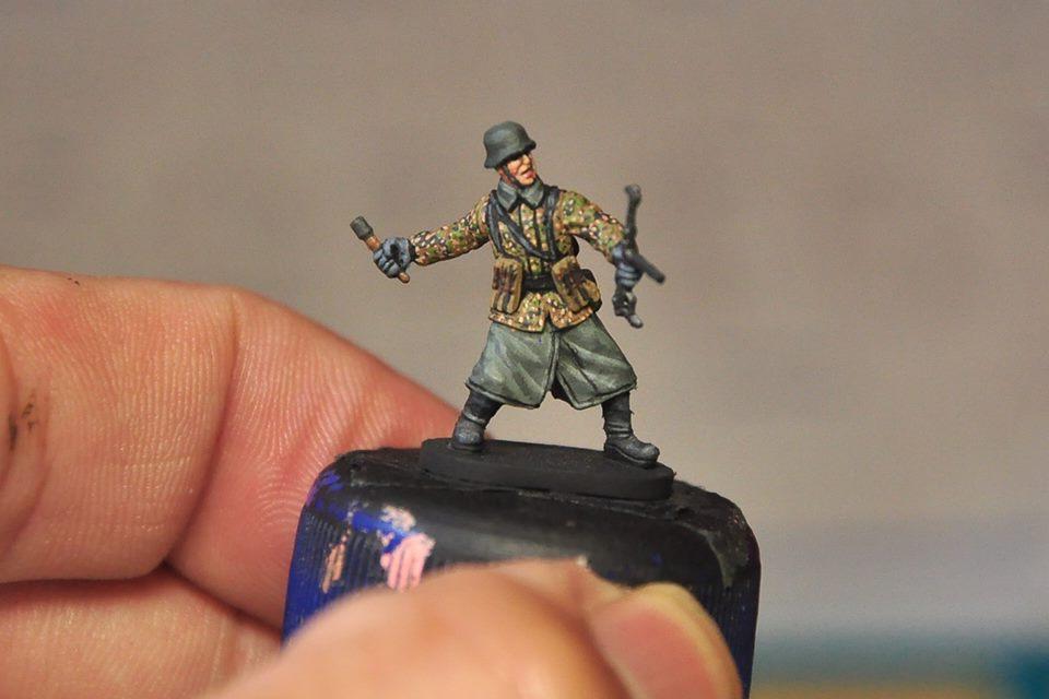 Panzergrendier 德軍黨衛軍裝甲擲彈兵 1/72scale