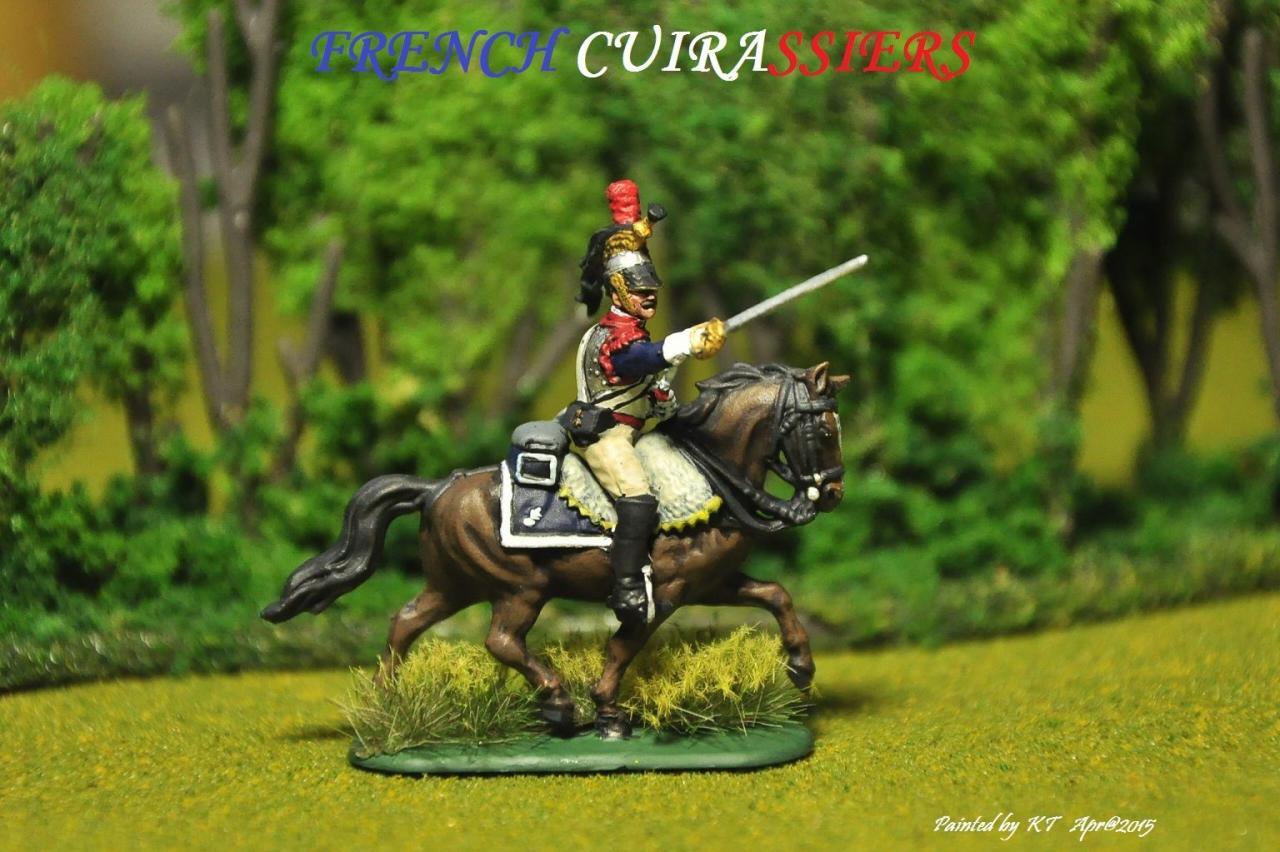 8037 - Cuirassiers français 1/72 Zvezda