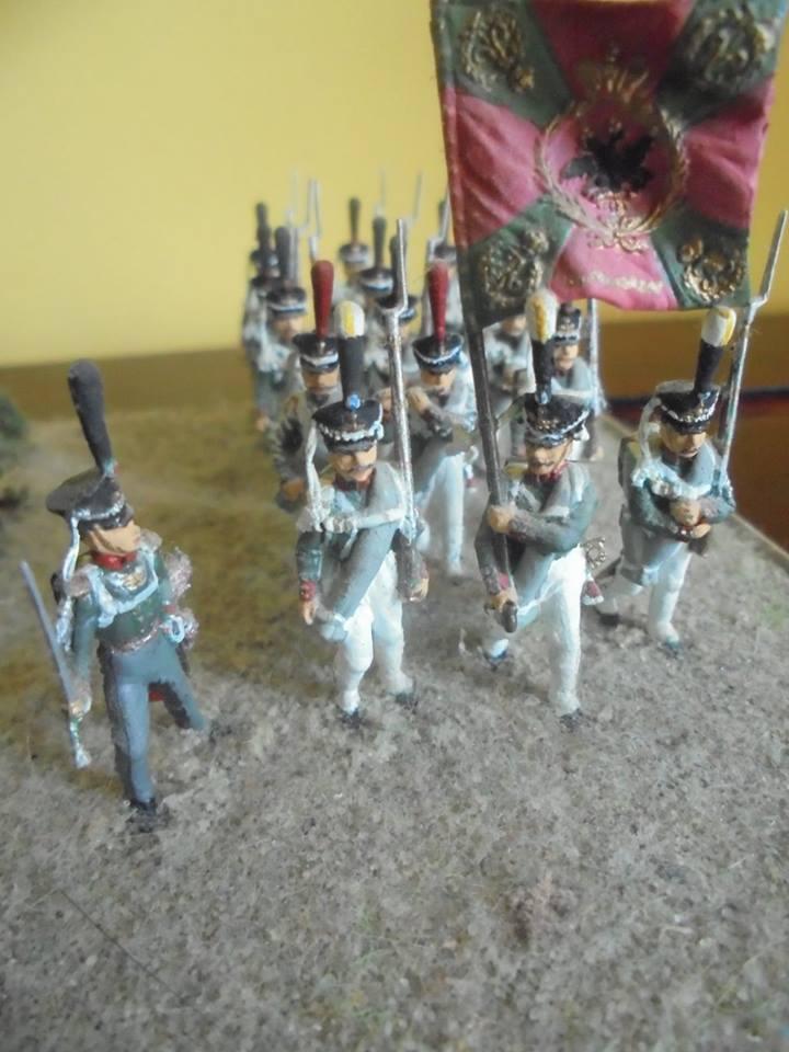 8020 - Maquette - Infanterie Lourde Russe 1812 1/72