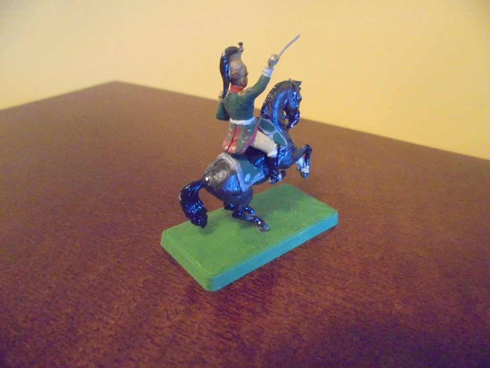6818 - French Dragoons Command Group 1/72