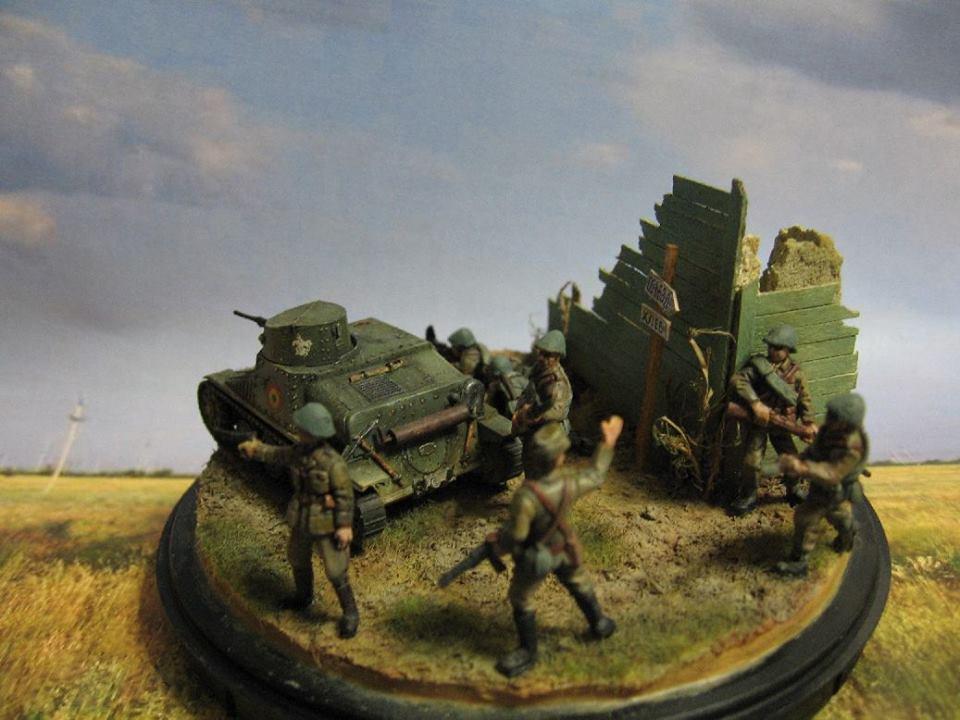 Tankette AH-IV-R R-1 Romanian Army