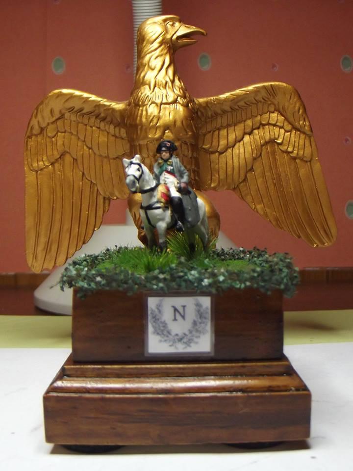 MC00 Napoleon with horse 1/72