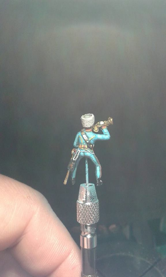 Trompeter der Garde  Jäger 1/72 Revell