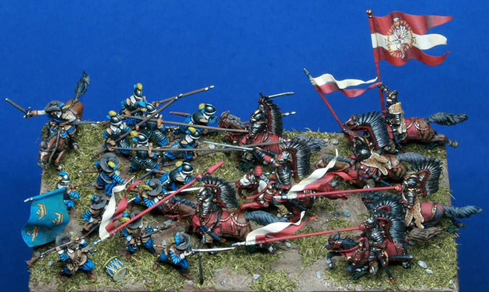 Battle of KIRCHOLM ,Polish-Swedish War, 1605. 1/72