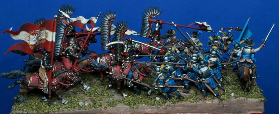 Battle of KIRCHOLM ,Polish-Swedish War, 1605. 1/72
