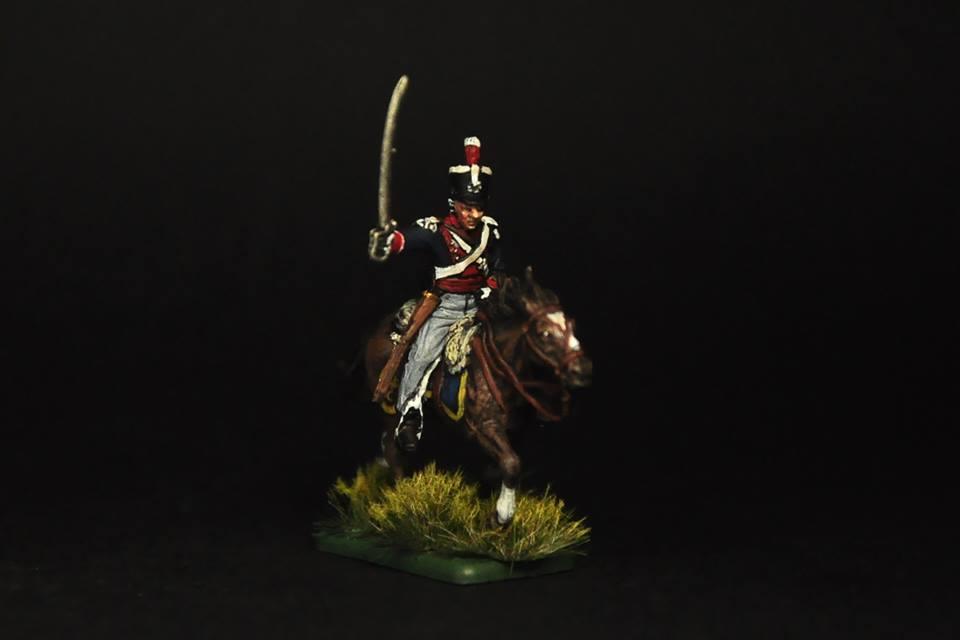 6094 - British Light Cavalry 1815 1/72
