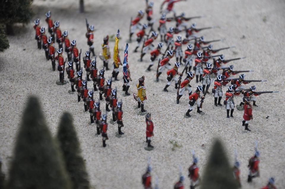 IXth of foots, guerra di indipendenza americana 1/72