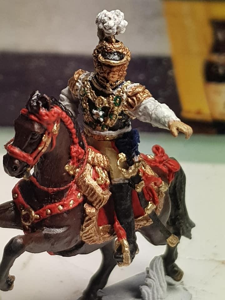 MC020 Jérôme Napoléon Roi de Westphalie Figurine métal 20mm