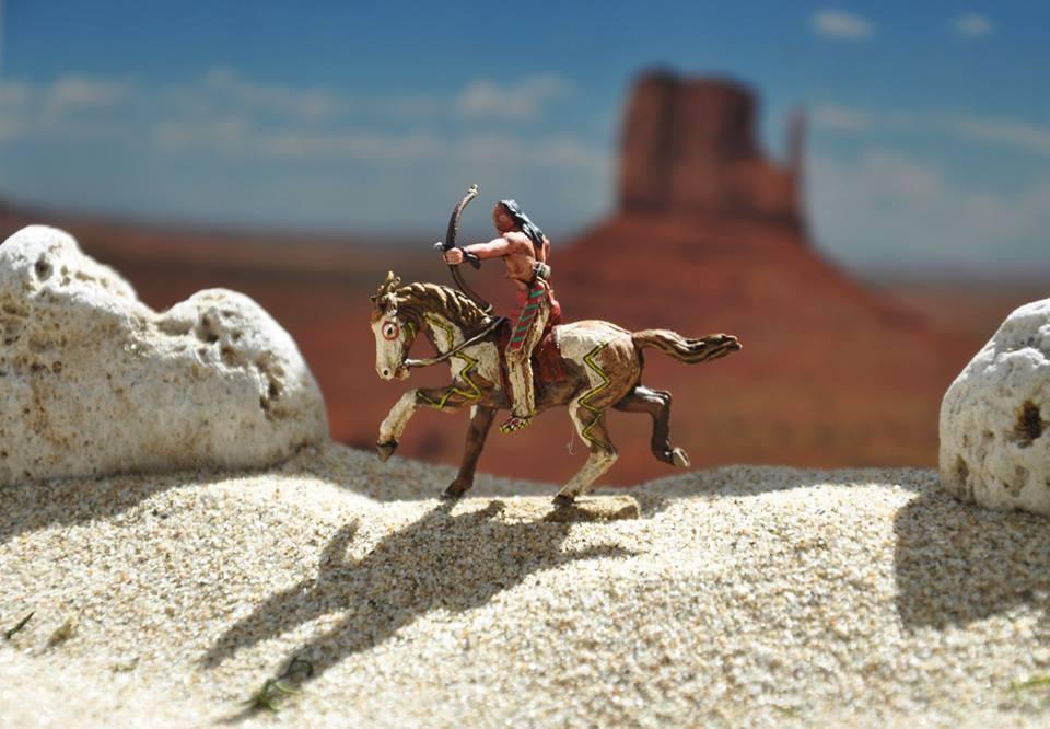 "Guerriers "" Nadowe-is-Iweg "" (Sioux), aussi connus sous "" Lakota "" ou "" Dakota "" 1/72"