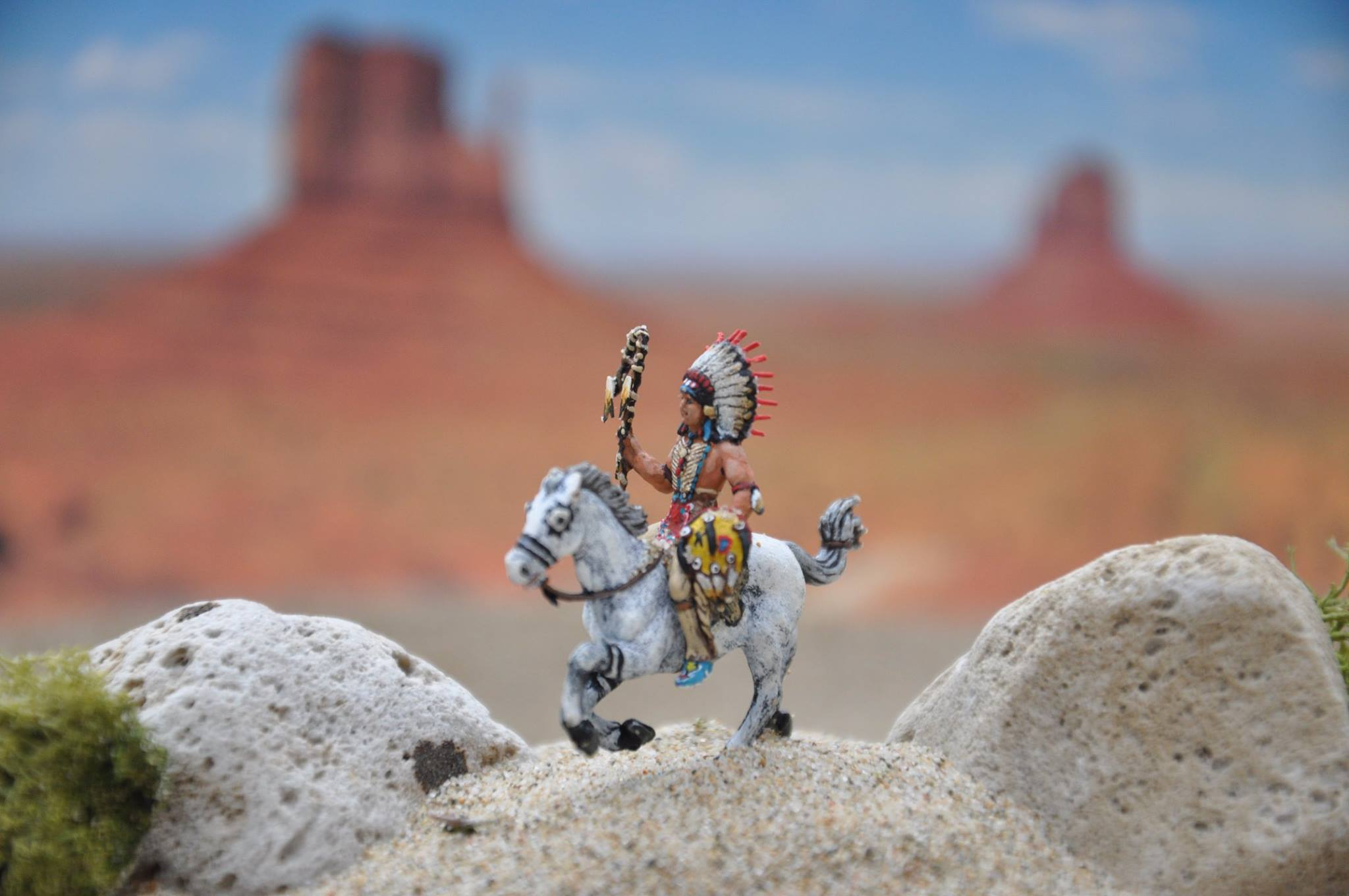 "Warrior ""Nadowe-is-Iweg"" (Sioux), also ""Lakota"" and ""Dakota"" 1/72"