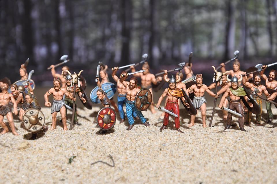 Guerriers Celtes 1/72
