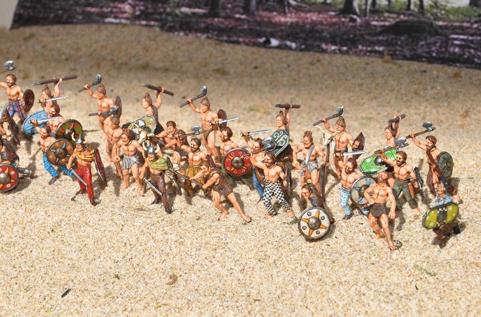Guerriers Celtes 1/72