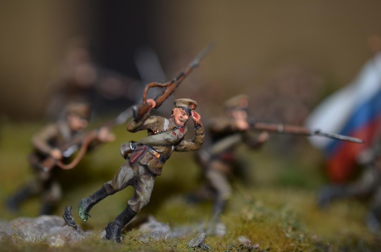 8082 - Infanterie russe WW1
