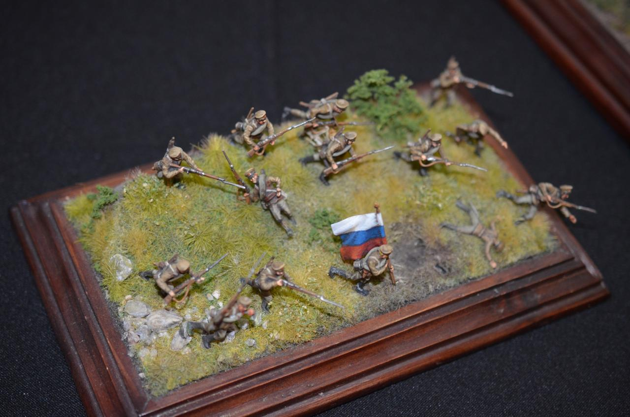 8082 Infanterie russe WW1 1/72
