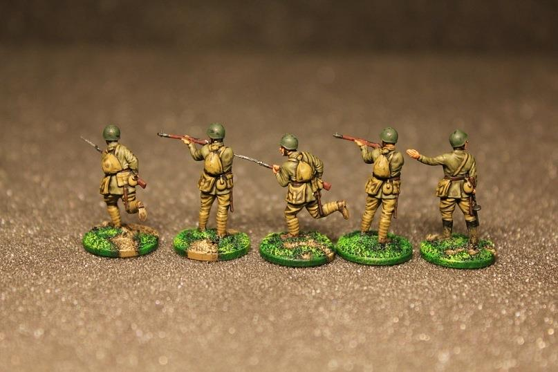 Réalisations au 1/72 de M. Carlo Antonio Esposito Art of Tactic . !!