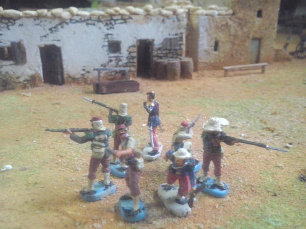 Danjou ou le 30 avril 1863 à Camerone (Mexique) au 1/72